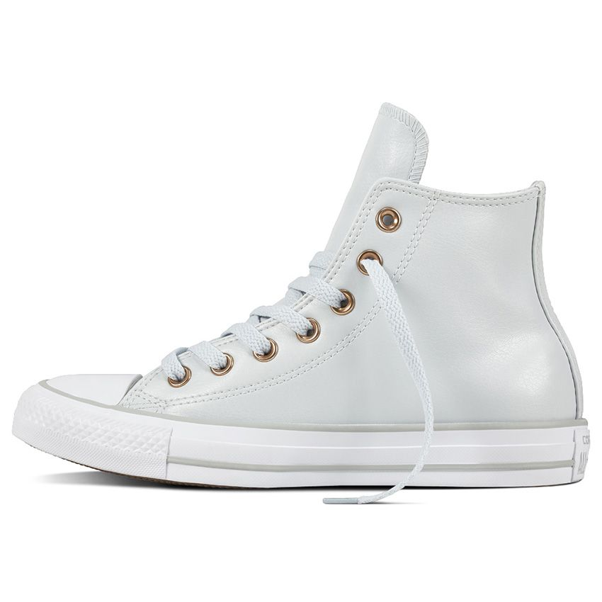 Chuck Taylor All Star Craft SL High Top in Pure Platinum/White ...